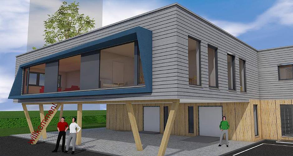 Neubau Schülerwohnheim in Holzrahmenbauweise