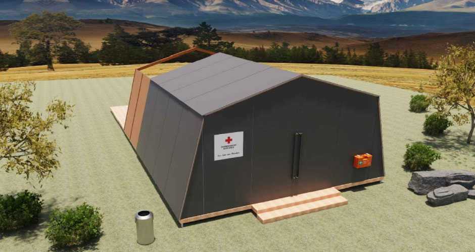 Notunterkunft - Unterkunftszelt