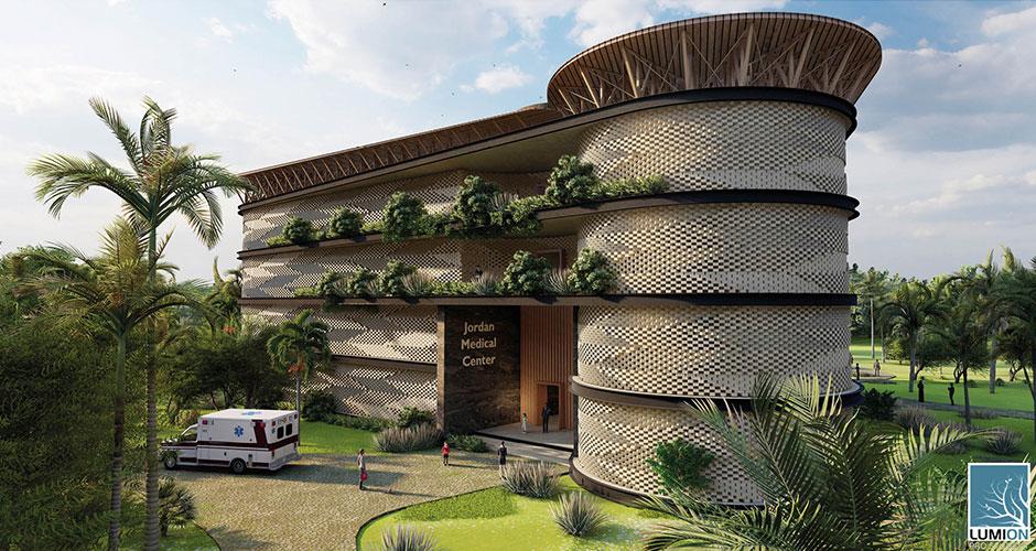 """Jordan Medical Center / Ghana Africa """"Lowtech meets Hightech"""