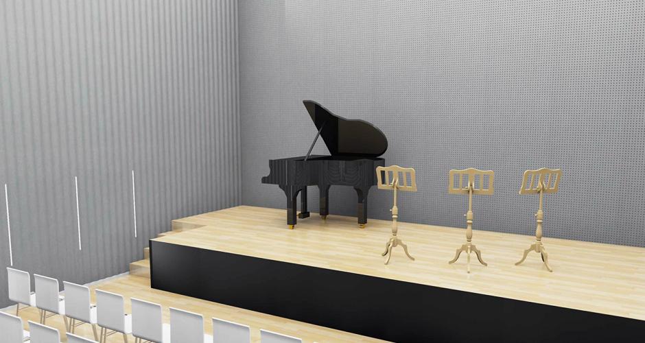 Akustikplatten aus Eternit