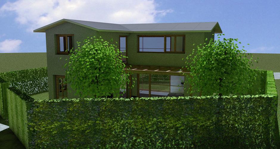 Kleingartenwohnhaus