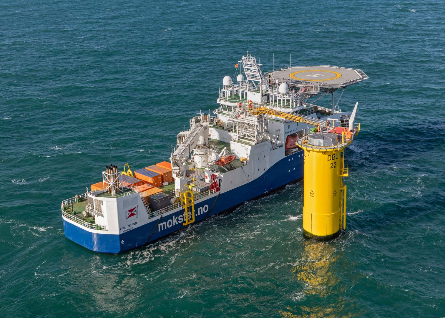 Simon Møkster Shipping to Hywind Tampen