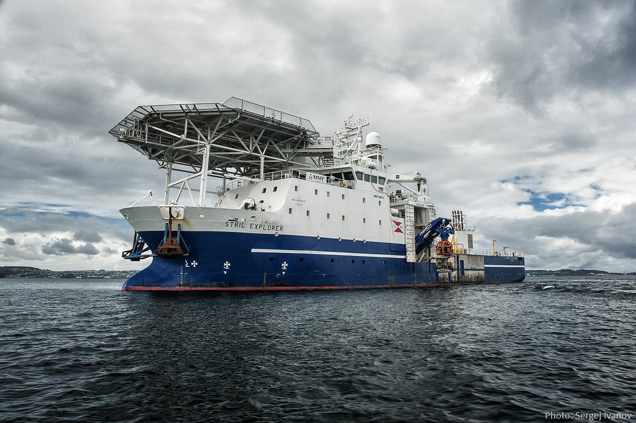 Hywind project for Stril Explorer