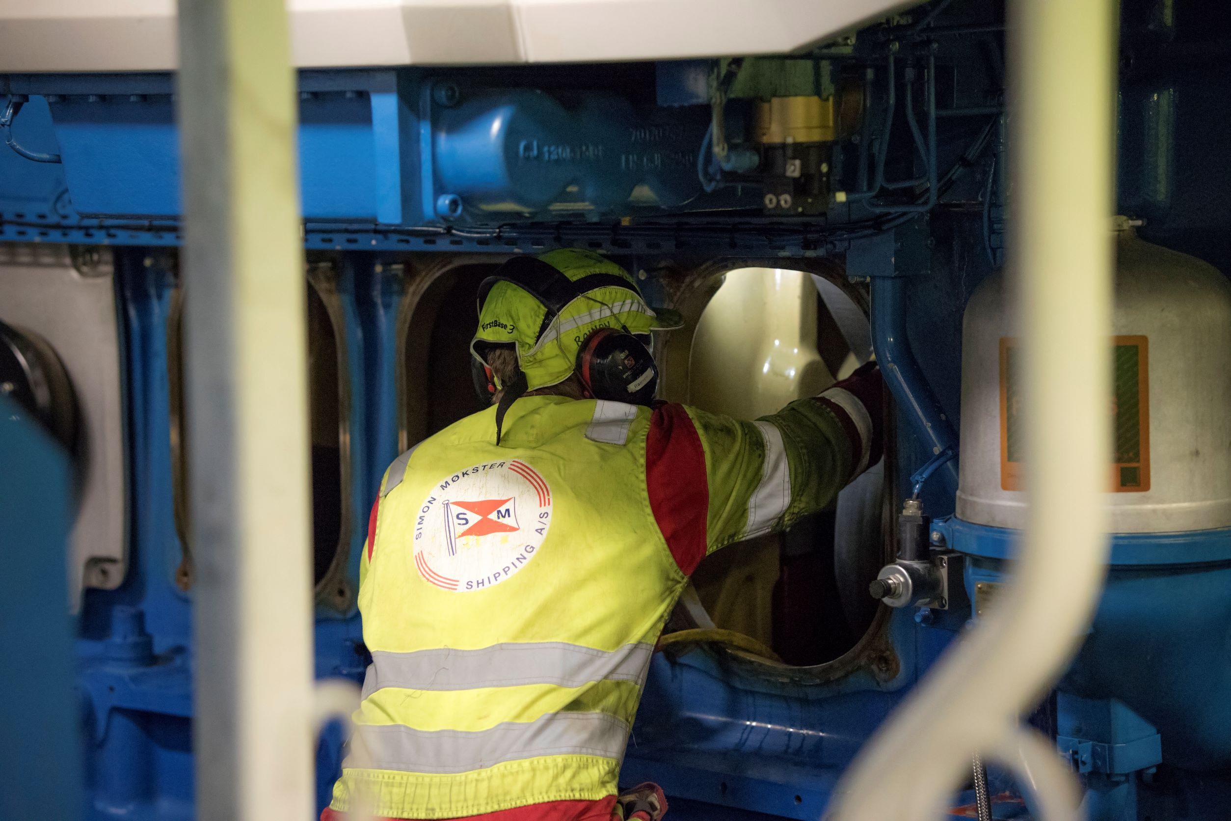 August - Maintenance in the engine room