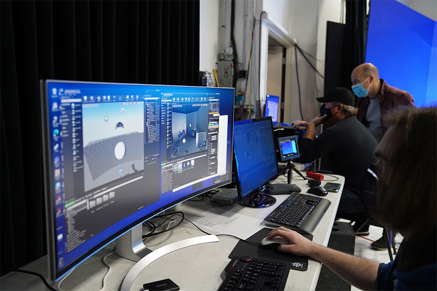 Behind the scenes look at Unreal Engine artist