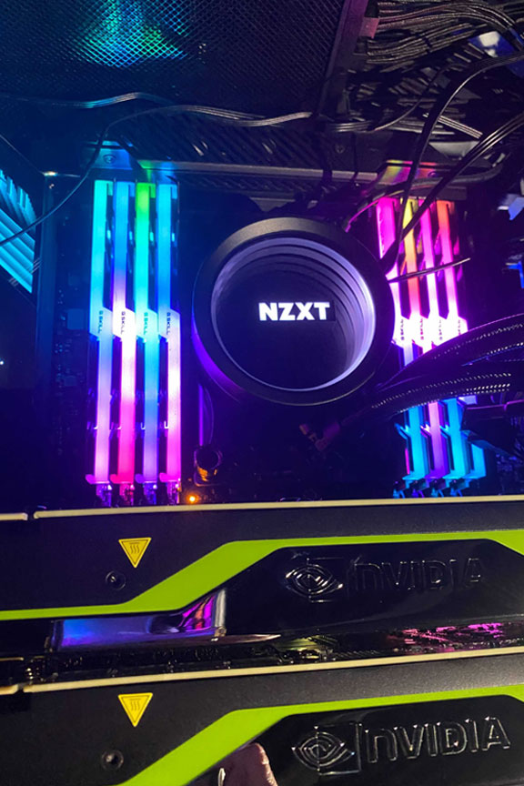 Photo of a NZXT computer