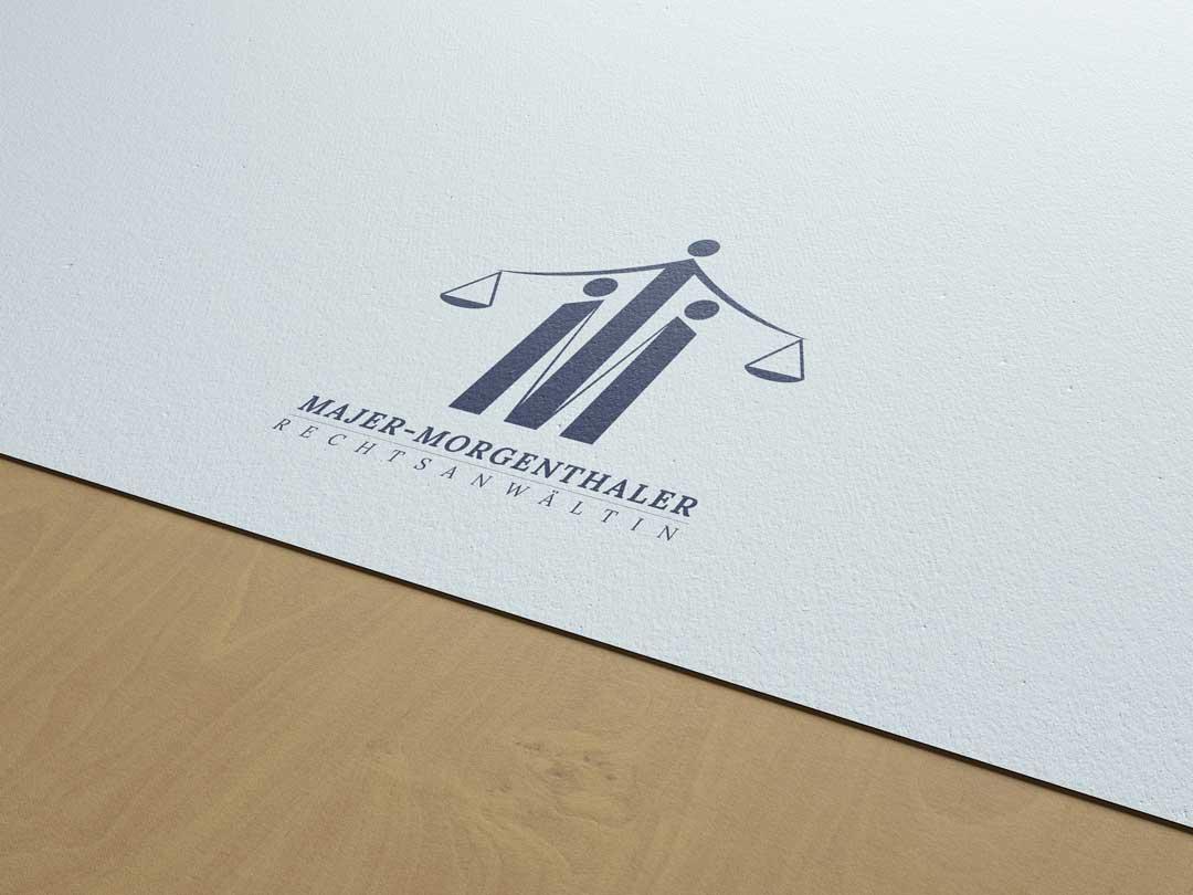 Mischler Webdesign Mannheim portfolio majer-morgenthaler logo