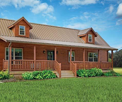 Pioneer Modular Log Home