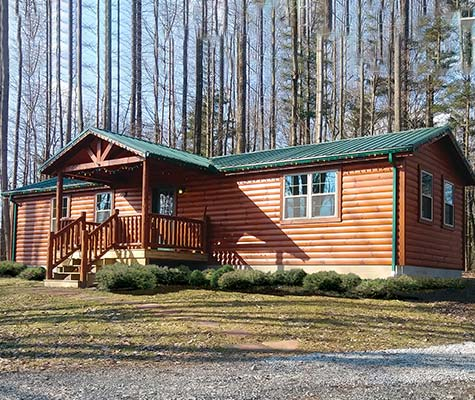 Frontier Modular Log Home