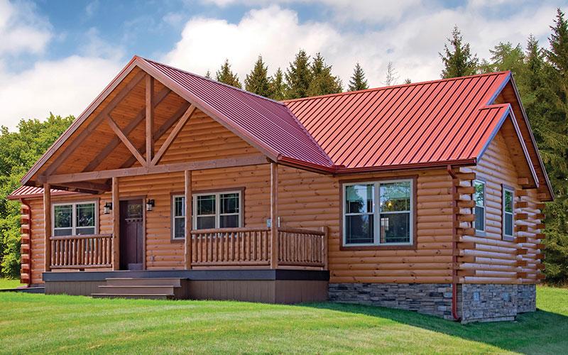 Sunset Ridge - Modular Log Home