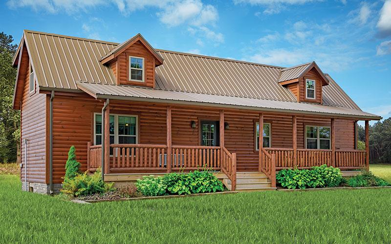 Pioneer - Modular Log Home