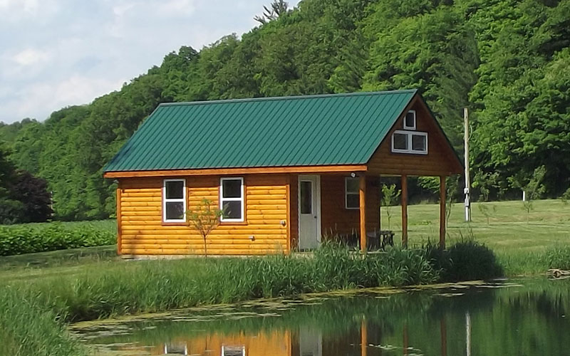 Hunter - Modular Log Home