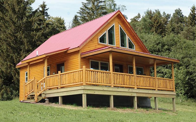 Timberline - Modular Log Home