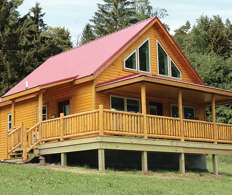 Timberline Modular Log Home