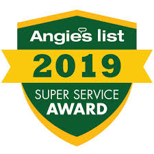 Miami Roofing won the 2019 Angie's List logo