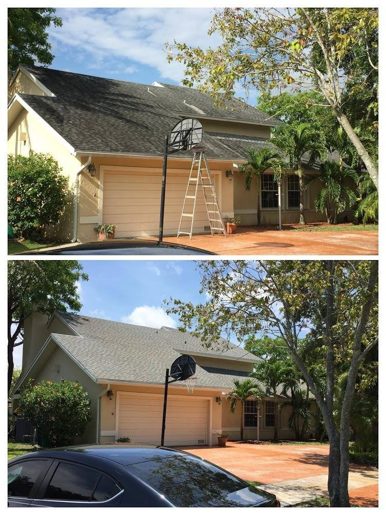 roof cleaning services pinecrest