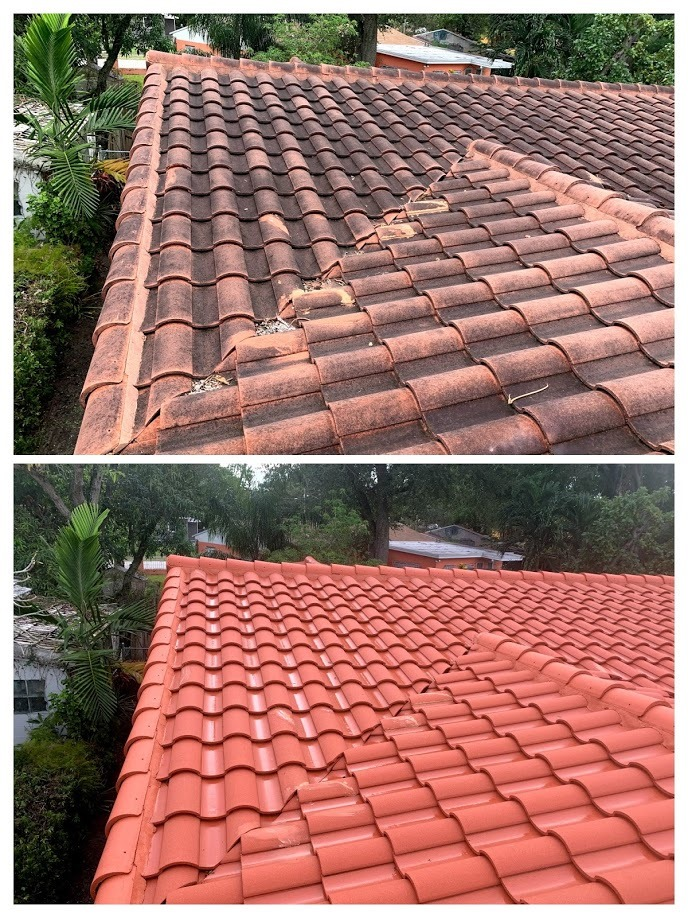 Coral Gables roof cleaning services