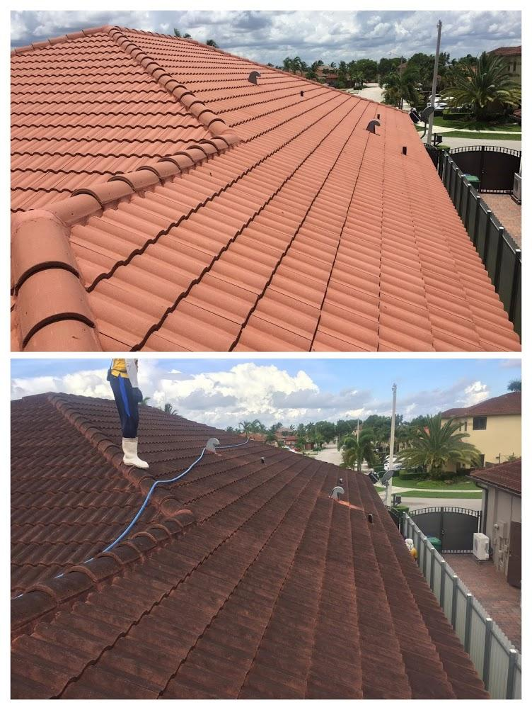 homestead roof cleaning