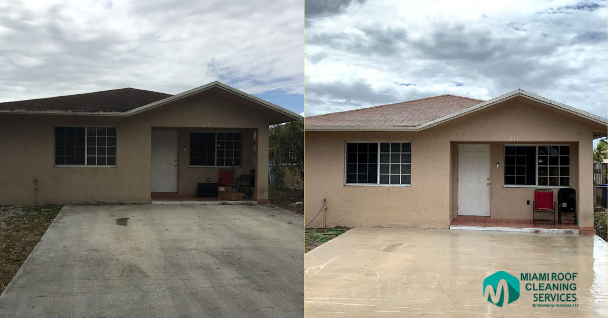 Pressure cleaning cutler bay