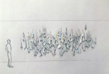 Tercerunquinto. Paños (Segunda versión), 2020