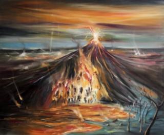 MARCOS CASTRO. Paisaje de fuego, 2019