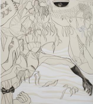 CHELSEA CULPRIT. Chrysalis Corset, 2020