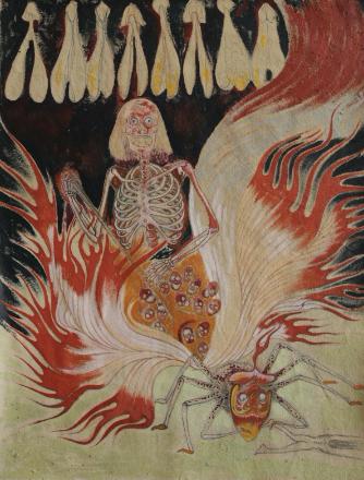 JAVIER BARRIOS. Horno de tierra, 2020