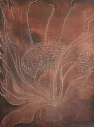 JAVIER BARRIOS. Loto de sangre y fuego, 2020