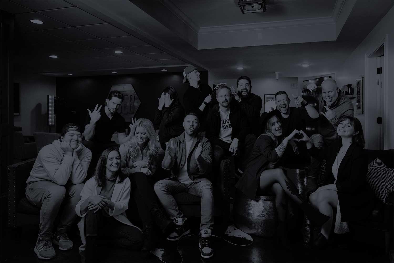 A photo of the Studio 8E8 dental marketing team