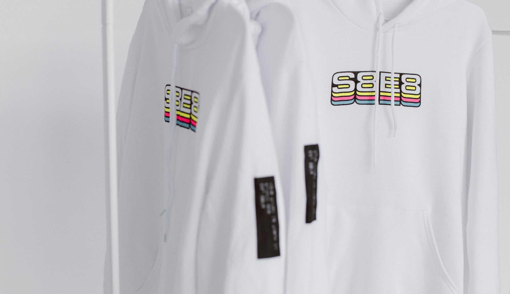 Photo of S8E8 hoodies