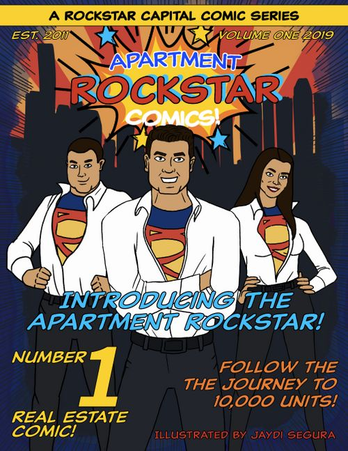 The Apartment Rockstar Issue #1 Cover