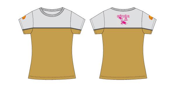 Damen T-Shirt 09