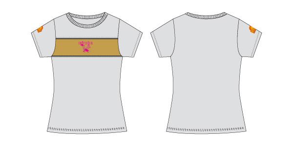 Damen T-Shirt 10