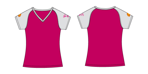 Damen T-Shirt 05