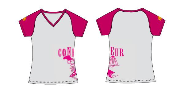 Damen T-Shirt 06