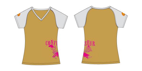 Damen T-Shirt 12