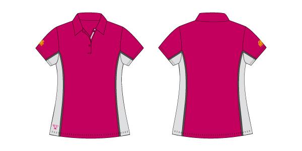 Damen Polo-Shirt 101