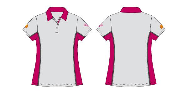 Damen Polo-Shirt 102