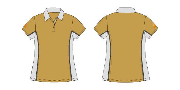 Damen Polo-Shirt 111