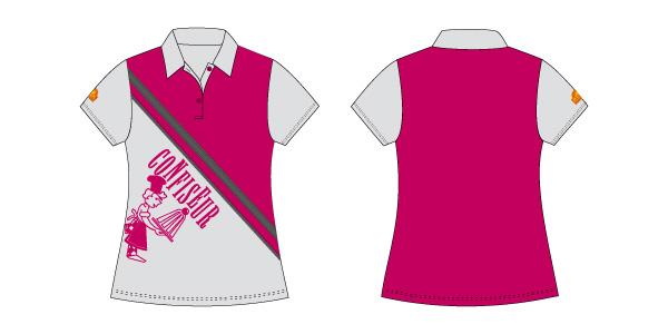 Damen Polo-Shirt 107