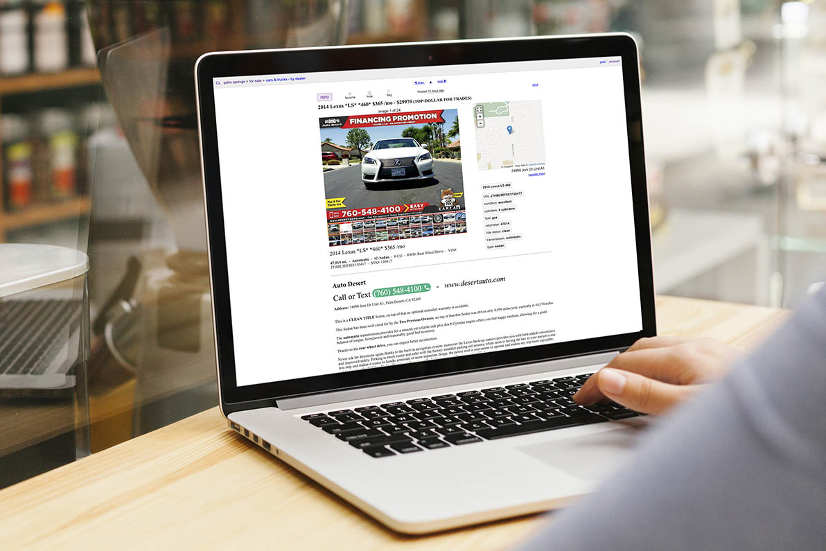 5 awesome Craigslist templates for car sales