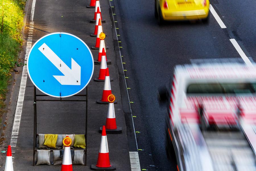 High-Speed Road Maintenance