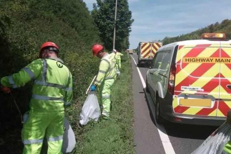 Litter Picking for Local Authority
