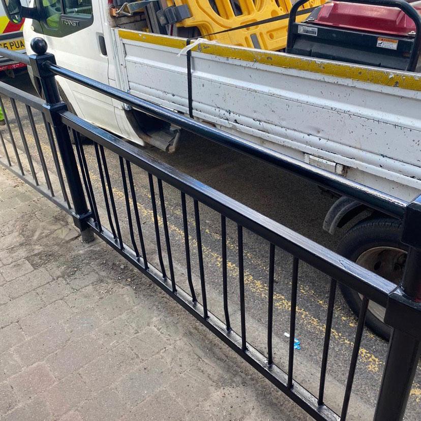 roadside railing repars