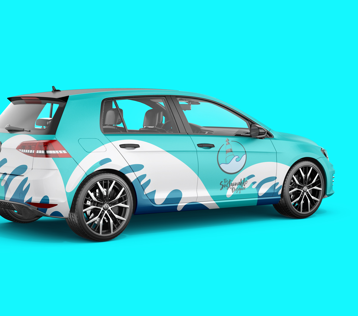 Wrapped VW Golf