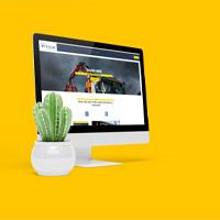 Grab Hire Website Design from Kent