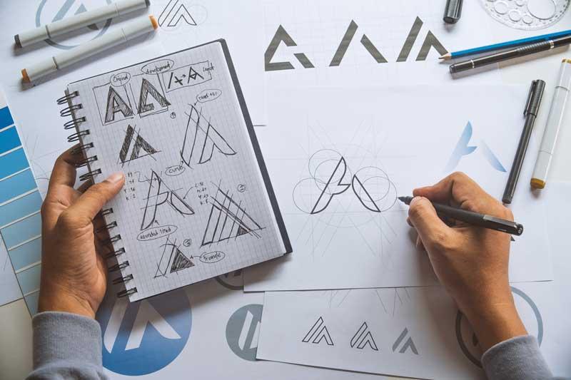 Hand drawn logo ideas