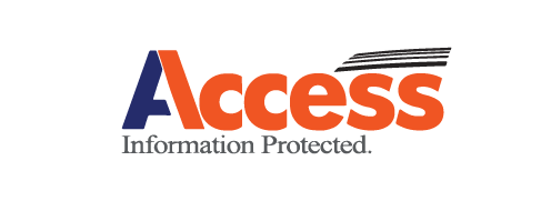 Access information logo