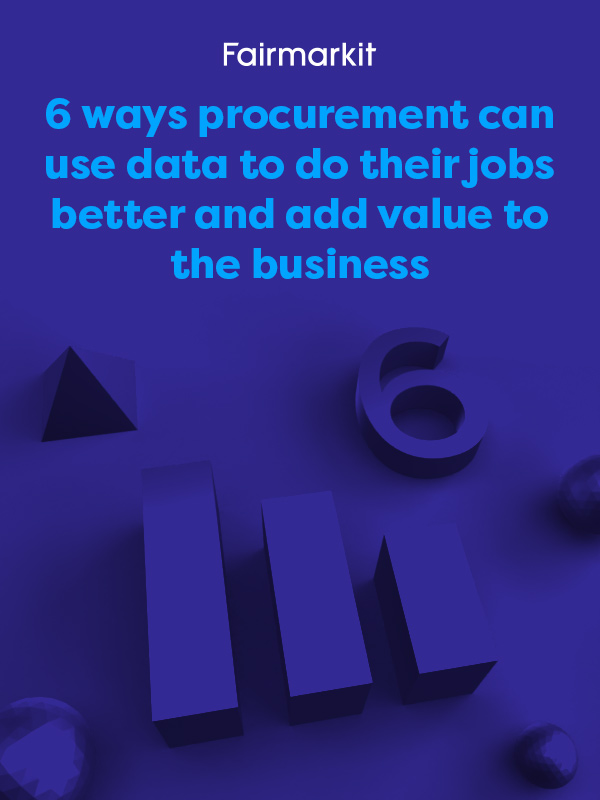 6 ways procurement can use data to do their jobs better cover