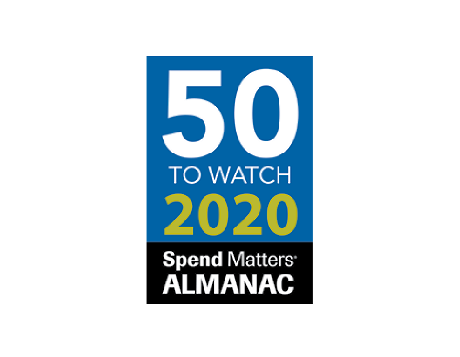 50 to watch 2020 Spend Matters logo